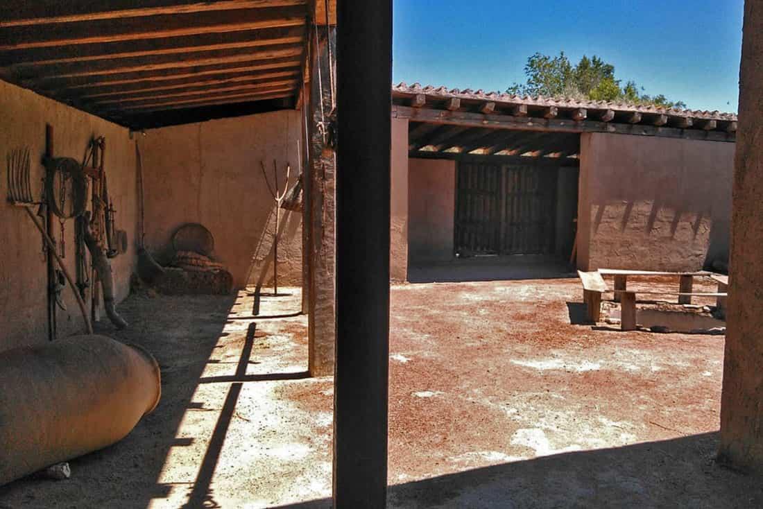 casa romana de la Indiana en Pinto