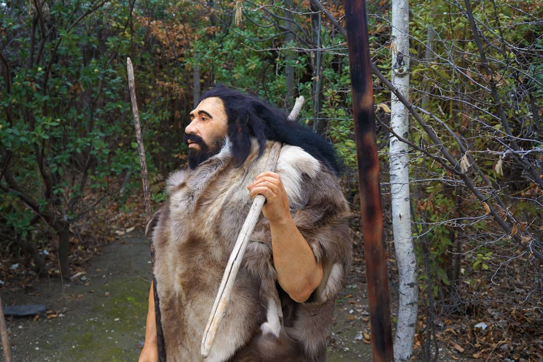 Neandertal. Arqueopinto. © Paleorama SL
