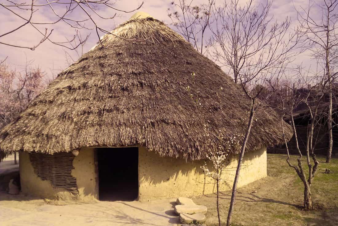 Choza neolítica Arqueopinto ©Paleorama SL