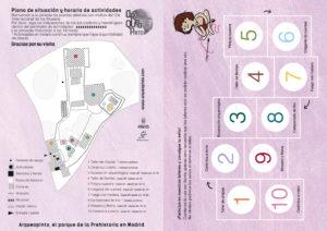 Pasaporte talleres segunda feria prehistórica en Arqueopinto